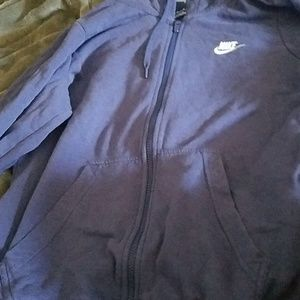 Nike hoodie great shape medium zip